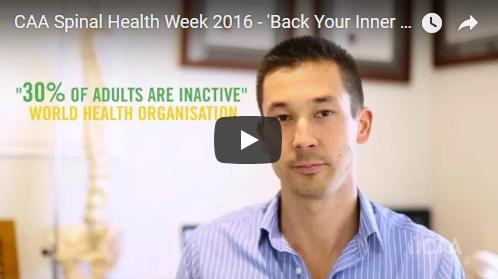Spinal Health Week 2016